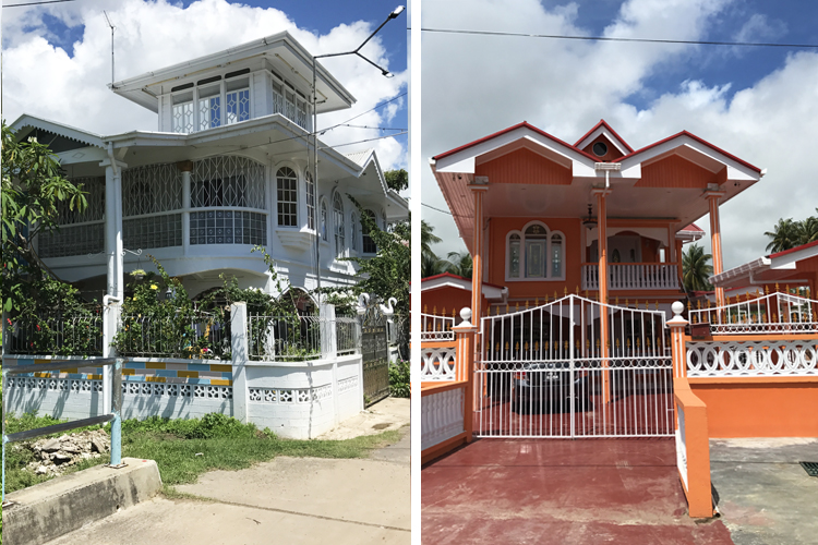 Of Course, In The Middle Of These Two Extremes Are The Modest Family Homes.  Some Of These Started As One Room Houses And Have Been Added On To Room By  Room ...